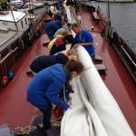 Schiff klar machen, Segeltour 2014